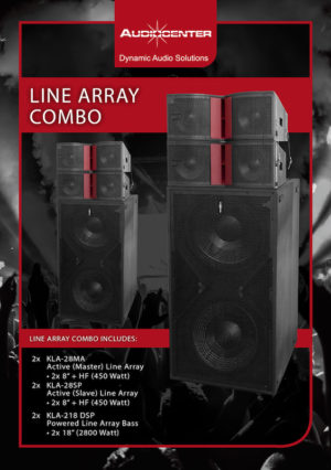 Audiocenter Combo Deal 1 Active Line Array