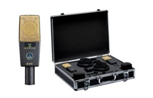 AKG C414 XL II ST Matched Stereo Pair