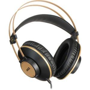 AKG K92 Closed-back Studio Headphone – Black/Gold
