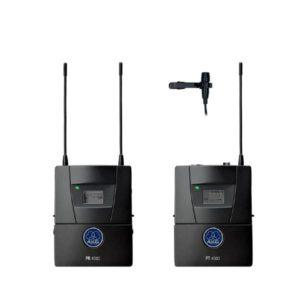 AKG PR4500 ENG SET/PT & CK99 L Lavalier Microphone