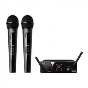 AKG WMS40 Mini Dual Vocal Wireless Mic Set