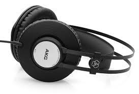 AKG K72  Closed-back Studio Headphone – Black/Silver