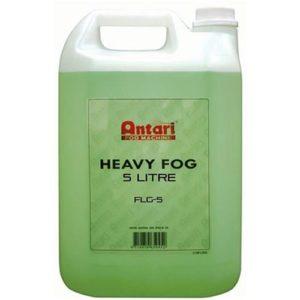 Antari FLG5 Heavy Fog Fluid 5 Litre