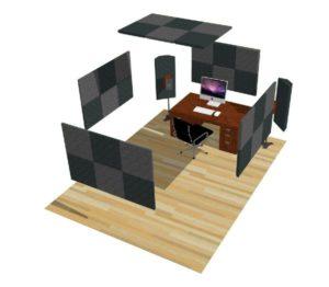 Acoustic Treatment Studio Kit 1 Std