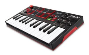 Akai MPK Play – Mini Controller Keyboard with Built-in Speakers