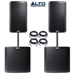 Alto TS310 + TS212S Speaker Combo 6500w