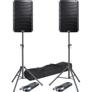 Alto TS315 + Stands 4000w Speaker Combo
