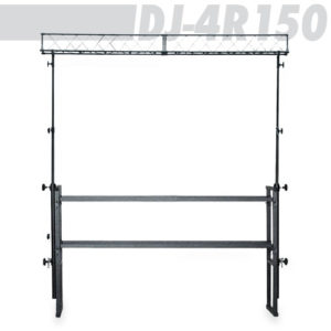 Athletic DJ-4R150 DJ Stand with Light Trussing