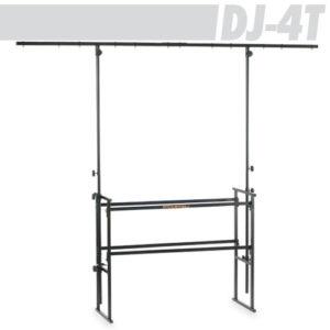 Athletic DJ-4T DJ Stand with Crossbar