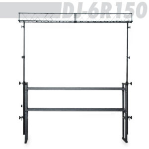 Athletic DJ-6R150 DJ Stand with Light Trussing