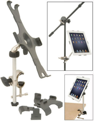 Athletic iPM90 Music Stand Mount For iPad