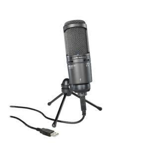 Audio-Technica AT2020 USB+ PLUS Cardioid Condenser Microphone