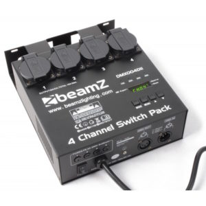 Beamz 4 Channel DMX Switchpack