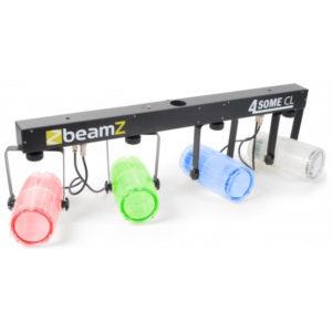 Beamz 4-Some Light Set Clear RGBW LEDS