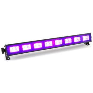 Beamz BUV93 LED Bar 9X 3W UV
