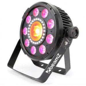 Beamz BX94 PAR 64 with Cob LED and Strobe 9x 6W 4-1 RGBW LEDS