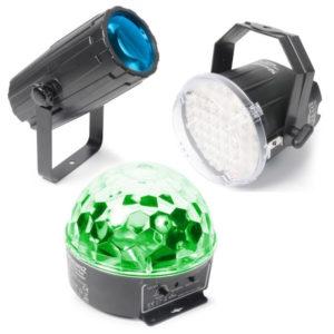 Beamz Disco Light Set 1:  Moon, Strobe and Star