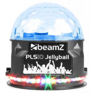 Beamz Jelly Ball 3x 1w RGB LEDS with BT Battery DMX IR