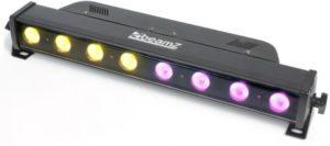 Beamz LCD24 LED ColoUr Unit 8 x 3w TRI DMX