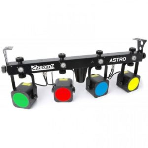 Beamz LED Astro ParBar 4-Way Kit 20w