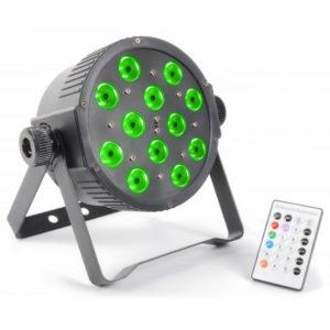 Beamz LED Flatpar 12x 3w RGB LEDS DMX IR Remote Control