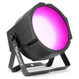 Beamz LED Flatpar 3in1 DMX Frost Lens 39w
