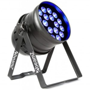 Beamz LED PAR 64 18x 6W RGBAW LEDS DMX