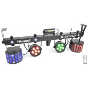 Beamz LED ShowBar 2X PAR 6X 4in1 2XButterfly, Laser R/G DMX IRC