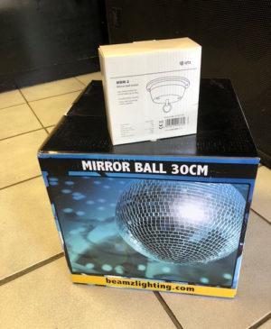 Beamz Mirror Ball 30cm with Motor