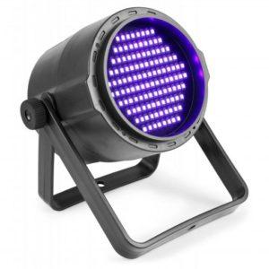 Beamz PLS20 LED PAR Backlight UV DMX IR (Battery)