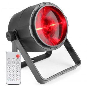 Beamz PLS30 LED Spot 1x 10W RGBW with Battery DMX IR