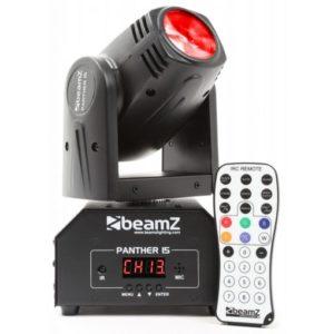 Beamz Panther 15 LED Beam Moving Head