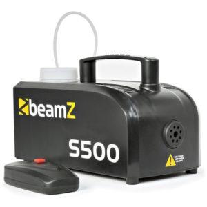 Beamz S500 Smoke Machine incl Smoke Fluid