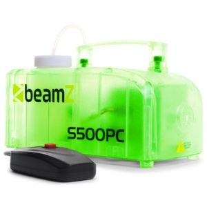 Beamz S500PC Transparant Smoke Machine with LED