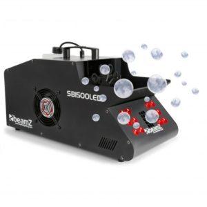 Beamz SB1500LED Smoke & Bubble Machine Single RGB LEDs DMX 1500W
