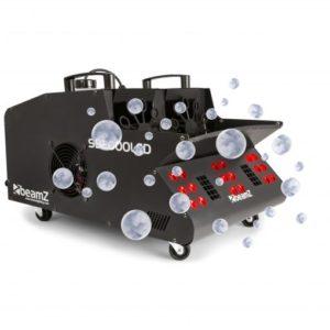 Beamz SB2000LED Smoke & Bubble Machine RGB LEDs 2000W DMX