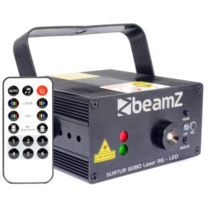 Beamz Surtur Laser RG GOBO LED with Remote