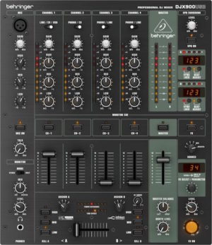 Behringer DJX900USB 5 Channel DJ Mixer with FX and USB