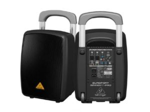 Behringer Europort MPA40BT-PRO All-in-One Portable 40w PA System (each)