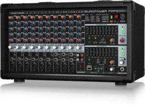 Behringer EuroPower PMP2000 14 Channel Powered Mixer 2 x 350-Watt