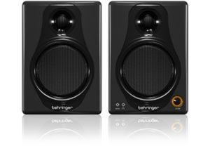 Behringer Media 40USB 4″ (Pair) 50-Watt Digital Monitors/USB