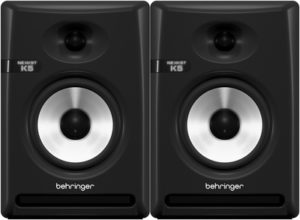 Behringer NEKKST K5 (Pair) – Audiophile Bi-Amped 5″ Studio Monitor with Advanced Waveguide Technology
