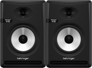 Behringer NEKKST K6 (Pair) – Audiophile Bi-Amped 6″ Studio Monitor with Advanced Waveguide Technology