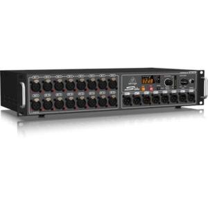 Behringer S16  I/O Box ft Klark Teknik SuperMAC Technology