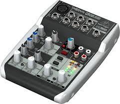 Behringer Xenyx Q502USB Compact Mixer