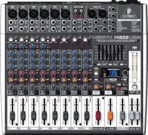 Behringer Xenyx  X1222USB 16 Channel USB Studio Mixer with FX