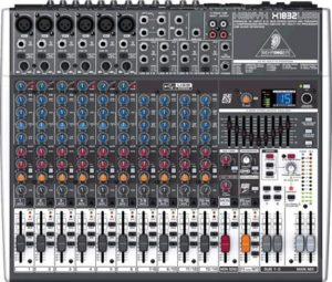 Behringer Xenyx  X1832USB 18 Channel USB Studio Mixer with FX