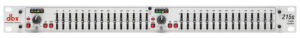 DBX 215S Dual Channel 15-Band Graphic Equaliser