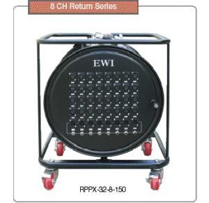 EWI RPPX 32 150G Drum Mounted Snake Cable with grip.
