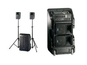 FBT Pro Amico 10USB 3-way, Tri-Amplified Powered Speaker System
